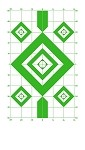 Green Diamond Sighting-In Targets - 8x14
