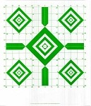 Green Diamond Sighting-In Targets - 14x16