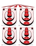 Skeet Ball Game - 23x29